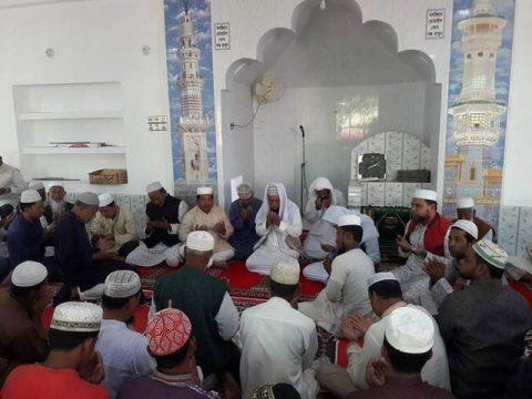 কমলনগরে মসজিদের নতুন ভবন উদ্বোধন