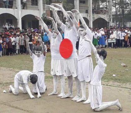 কমলনগরে নানা আয়োজনে পালিত হয়েছে বিজয় দিবস