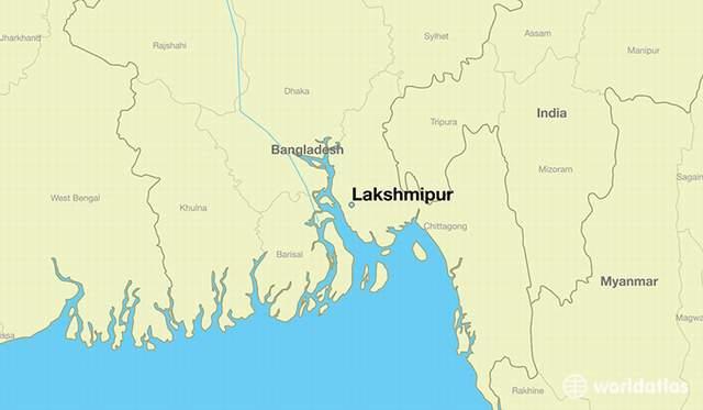 লক্ষ্মীপুর জেলা  Lakshmipur District