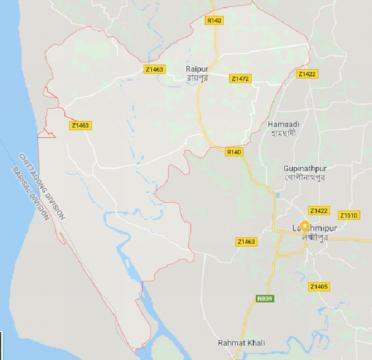 রায়পুর উপজেলা Raipur Upazila
