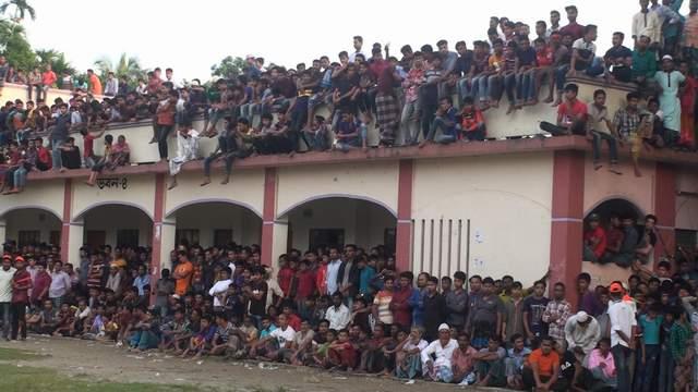 লক্ষ্মীপুরে বিদেশী খেলোয়াড়দের ক্রীড়া নৈপূন্য উপভোগ করলো হাজারো দর্শক