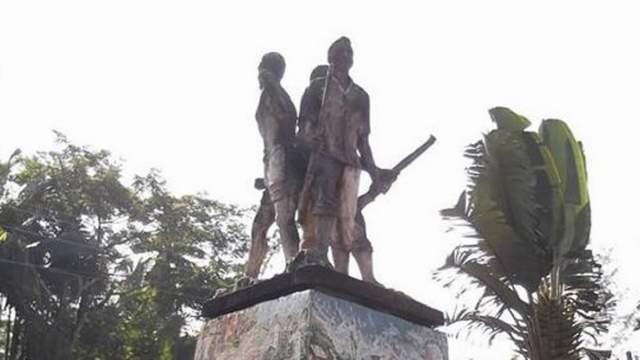রামগঞ্জের ৩ মুক্তিযোদ্ধা ভাস্কর্যটির সংরক্ষণ প্রয়োজন