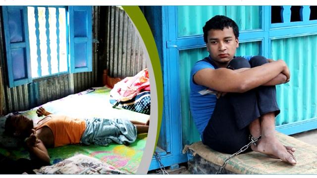 লক্ষ্মীপুরে: ৩২ বছর বিছানায় বড় ভাই, ৫ বছর শিকলে বন্দী ছোট ভাই
