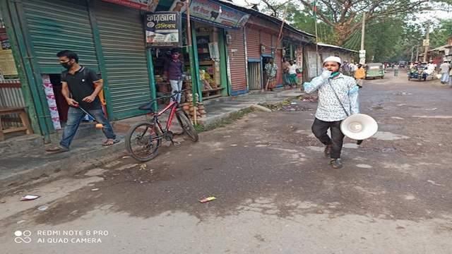 করোনা প্রাদুর্ভাব রোধে কমলনগর ছাত্রলীগের নানা কার্যক্রম