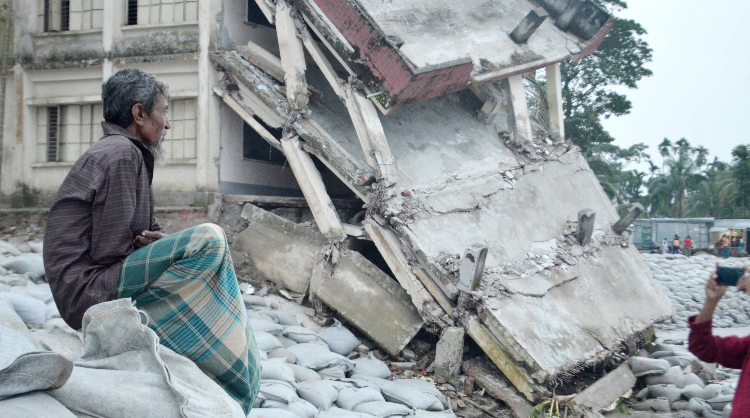 ঈদের পর রামগতি-কমলনগরের ১০টি পয়েন্টে জিও ব্যাগ ডাম্পিং শুরু: মেজর মান্নান
