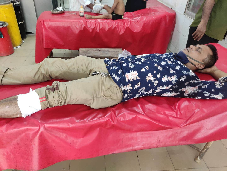 সড়ক দূর্ঘটনায় যমুনা টিভির লক্ষ্মীপুর প্রতিনিধি আনিস কবির আহত
