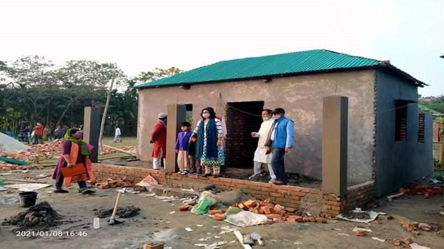 রায়পুর   ২৫ গৃহহীন পরিবার পেয়েছে পাকা ঘর