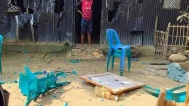 ইউপি নির্বাচন : কমলনগরে স্বতন্ত্র প্রার্থীর অফিস ভাঙচুর