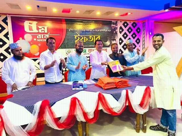 ''সবুজ বাংলাদেশ'' সম্মাননা পেল লক্ষ্মীপুর জেলার থিম সং এর গীতিকার, সুরকার এবং শিল্পী